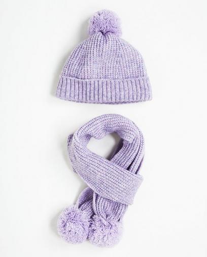 Set aus Mütze und Schal